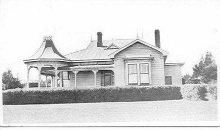 Miss Bowen's house