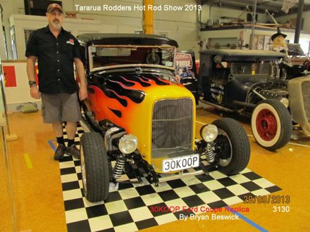 3130  30 Koop Ford Coupe Replica