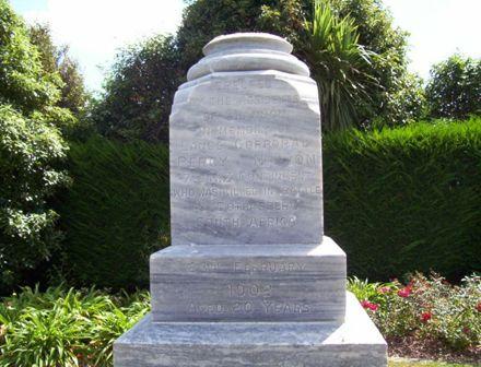 Percy Nation Memorial