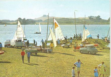 Levin, Yachts and People, Lake Horowhenua