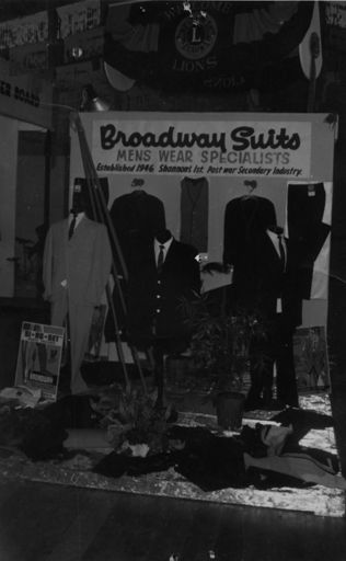 Broadway Suits Display, 1968