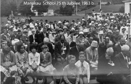 Manakau School 75th Jubilee 1963 b