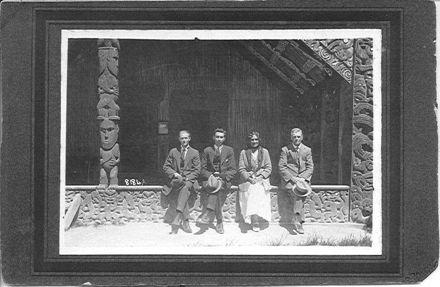 Thomas Henry Clark and others at Rotorua