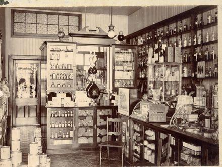 C. S. Keedwell, Chemist (shop, interior)