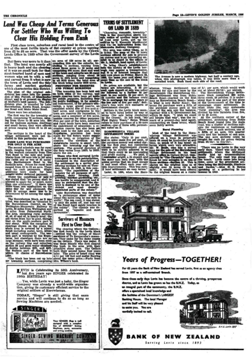 Page 13: 50th Jubilee Commemoration supplement