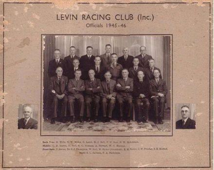 Levin Racing Club (Inc) Officials 1945-46