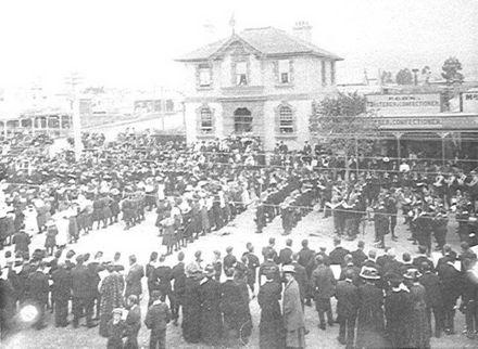 Commemoration Service for Edward VII, 1910