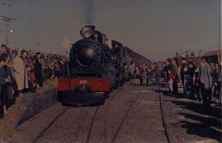 Last Railway Train to Leave Foxton 1959