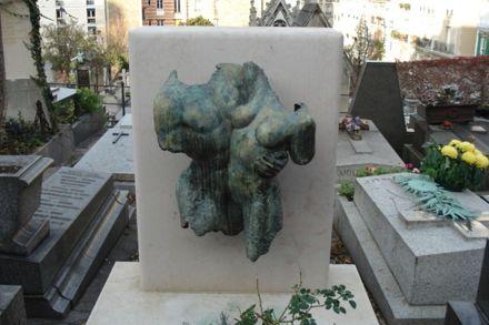 Montmartre cemetery headstone