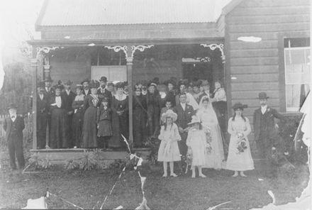 Wedding of Christina Bowler and William Richards