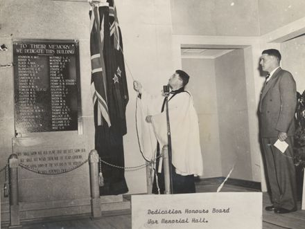 Opening of Levin Memorial Hall