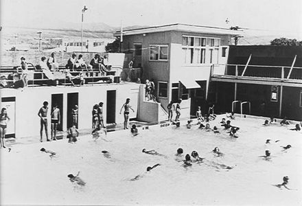 Swimming Pool, Levin, early 1970's