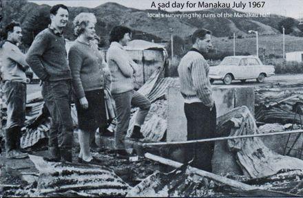 A sad day for Manakau July 1967