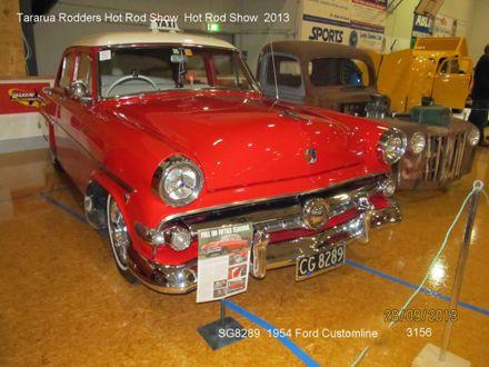 3156 SG8289 1954 Ford Customline