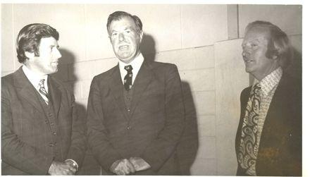 Mr Moyle, Mr O'Flynn & Mr Hancock, Manakau, 1972
