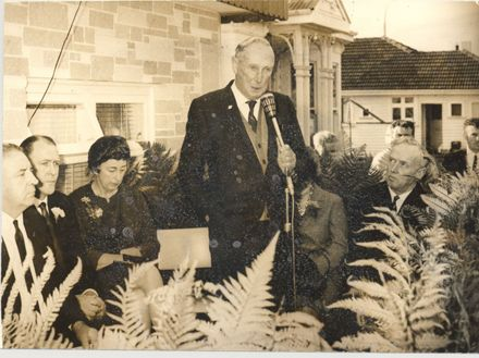 Opening new rooms, Levin Cosmopolitan Club, 1971