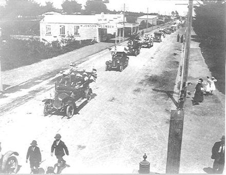 Peace Parade, Oxford Street, 13 Nov. 1918