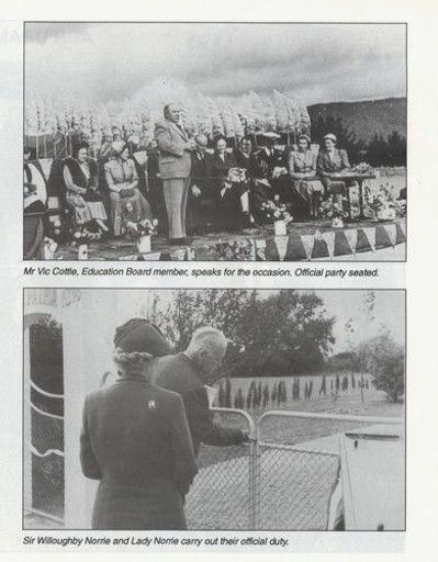 Opening of the Tokomaru Memorial gates