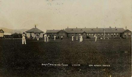 Cricket at the Boys' Training Farm