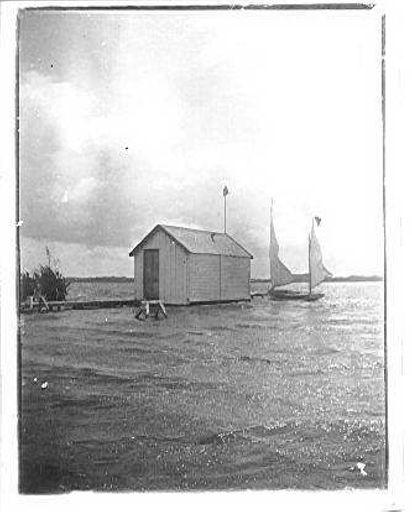 Boat house - Lake Horowhenua