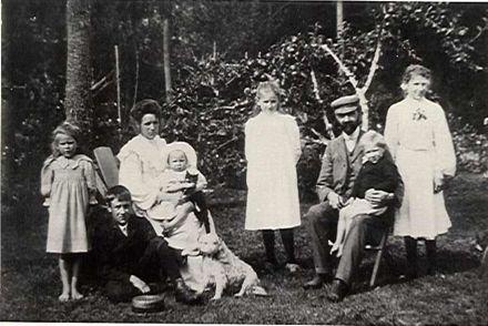 Gunning family, Shannon, c.1900
