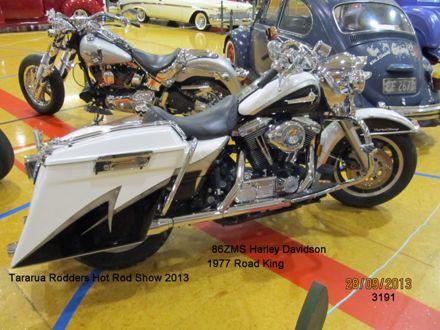 3191 86ZMS Harley Davidson Road King