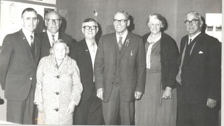 Levin Municipal Band, Life Memberships, 1971 ?