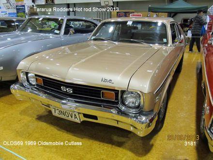 3181 OLDS69 1969 Oldsmobile Cutlass