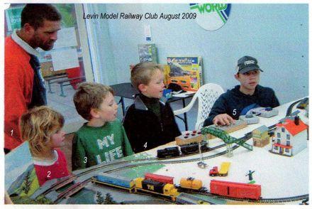 Levin model railway club august 2009