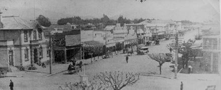 Oxford Street, Levin c.1920