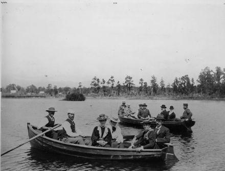 Boating (rowing), Lake Horowhenua