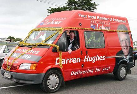 Darren Hughes MP