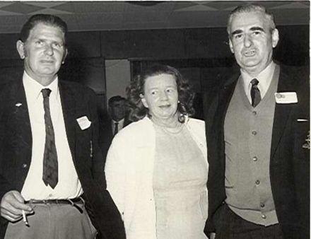 Mr & Mrs Gempton and Mr Hughes, 1973