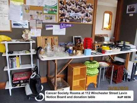 Horowhenua Cancer society office rooms