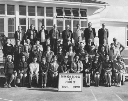 Pupils of 1926-1929 at 85th Jubilee, Shannon School, June 1974