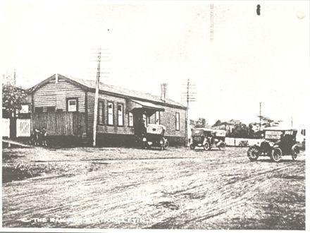 Railway Station, Levin