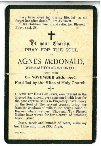 Rememberance Card