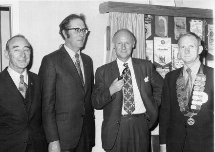 Levin Rotary Club tea meeting, 1973