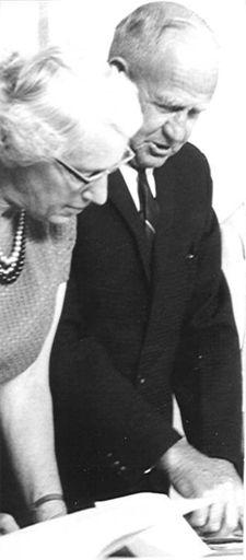 Mrs A.N. Joblin & Mr E.W. Wise, 1968