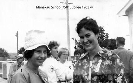Manakau School 75th Jubilee 1963 w