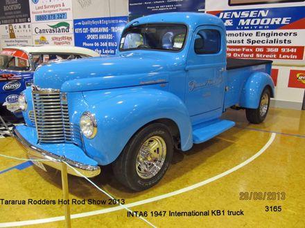 3165 1947 International KB1 Truck Pescini Brotherd Ltd..