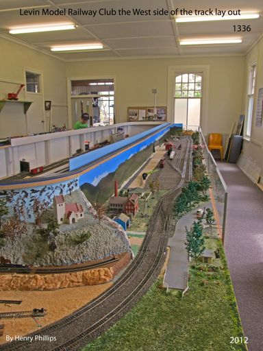 IMG_1336 Levin Model Railway Club the West side of the track lay out