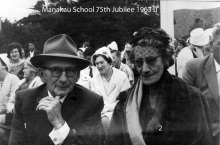 Manakau School 75th Jubilee 1963 u