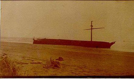 'Hydrabad' shipwreck,  c.1908