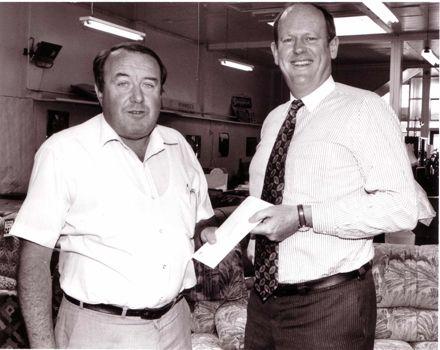 George Rotherham and Hamish Hancock, 1980's-90's