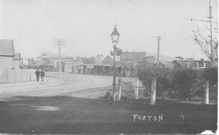 Main Street From Ihakara Gardens Corner, c.1910