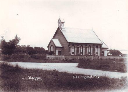 Presbyterian Church, corner Nathan Terrace & Bryce Street, c.1920's (?)