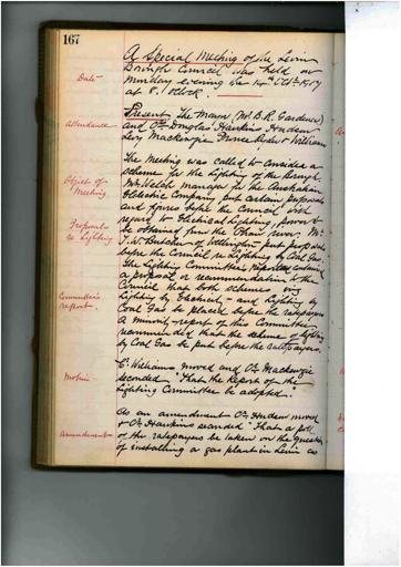 Meeting 47 - 14 October 1907