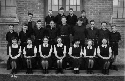 Foxton School Class 20 (?), 1951