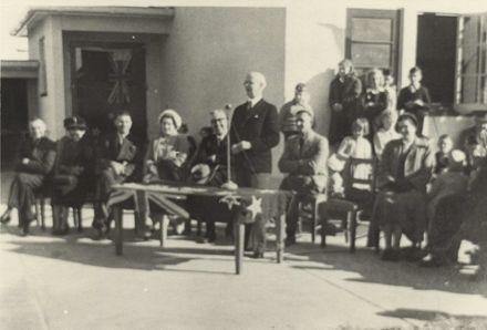 Opening of Foxton Beach School 1951